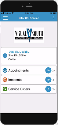 CSI Service Mobile Application